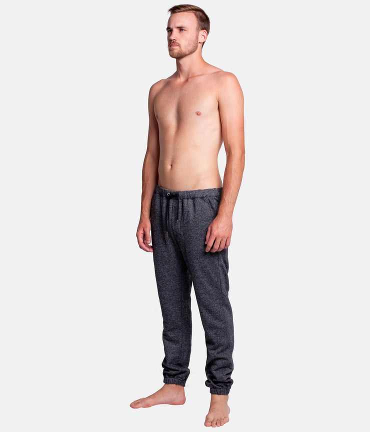 FIELDS TRACK PANT BLACK SPECKLE