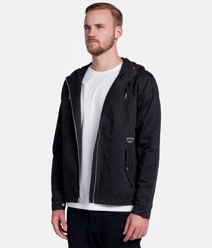 FLEET JACKET BLACK
