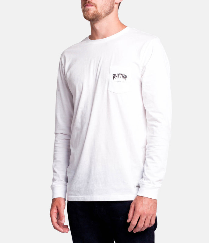 GOO BENDS LS T-SHIRT WHITE
