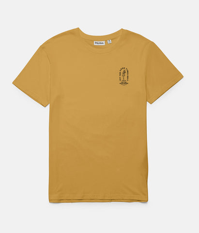 GOODTIMES T-SHIRT VINTAGE YELLOW