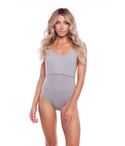 MY SCOOP ONE PIECE GREY MARLE