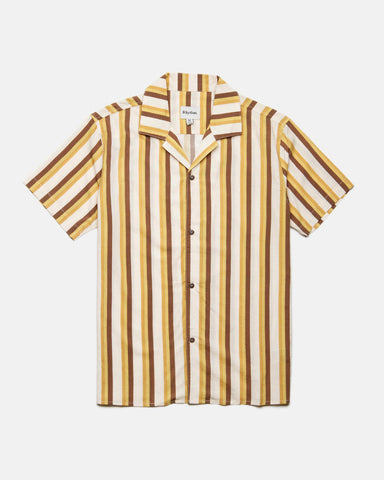 HAVANA NIGHTS SS SHIRT HONEY