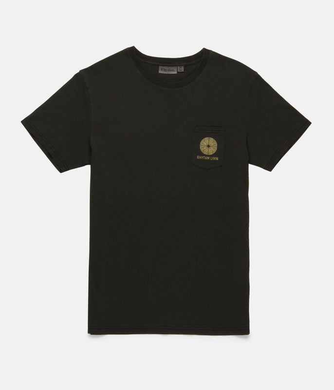 POCKET T-SHIRT WASHED CHARCOAL