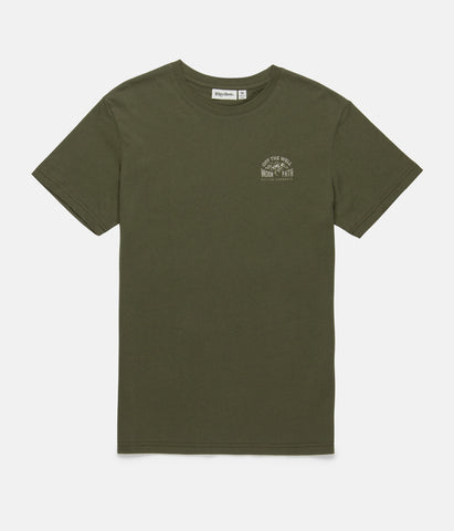 WELL WORN T-SHIRT OLIVE