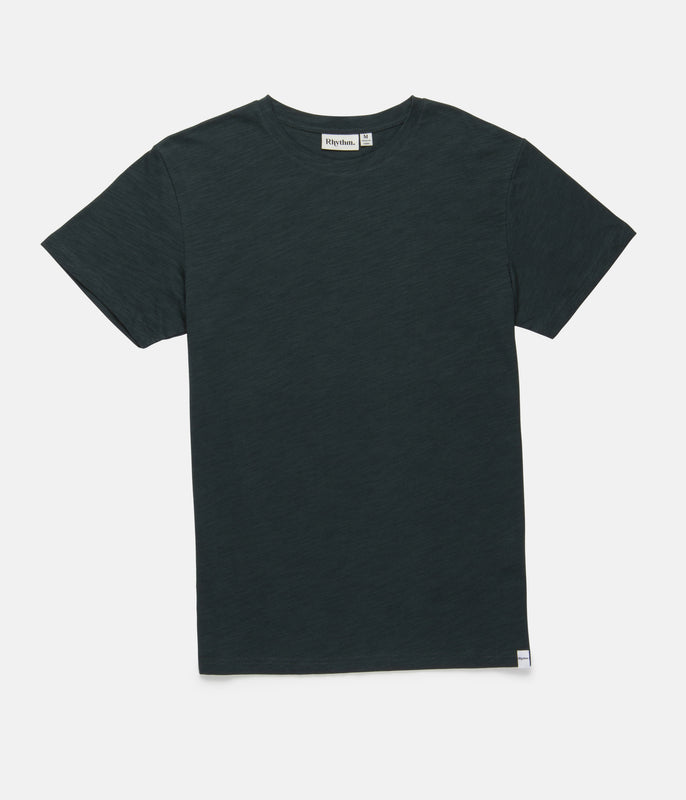 BASIC SLUB T-SHIRT TEAL