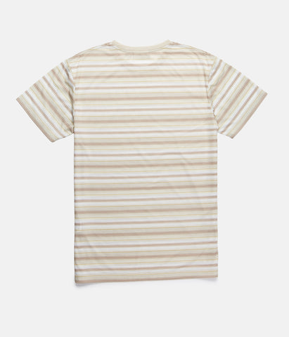 EVERYDAY STRIPE T-SHIRT SEAWEED