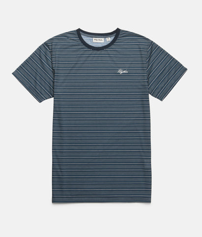 VINTAGE STRIPE T-SHIRT TEAL