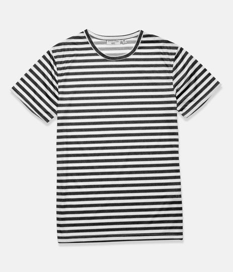 EVERYDAY STRIPE T-SHIRT CLASSIC CHARCOAL