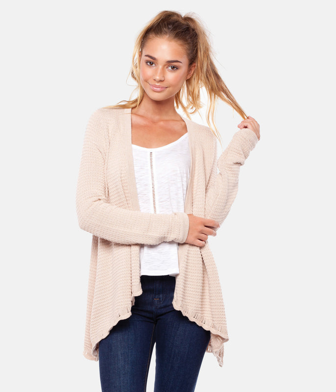 SUNDAY CARDI NATURAL
