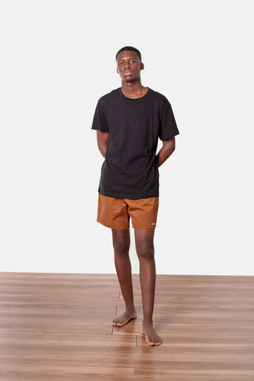 The Staple Beach Short Tobacco