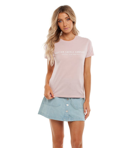 SUPPLY TEE BLUSH