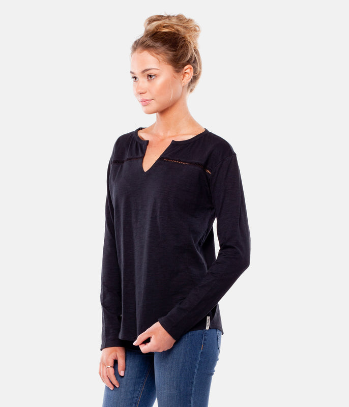MY L/S TOP BLACK