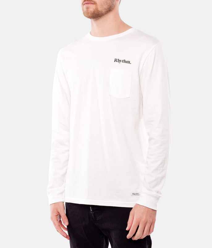 SUN LS T-SHIRT WHITE