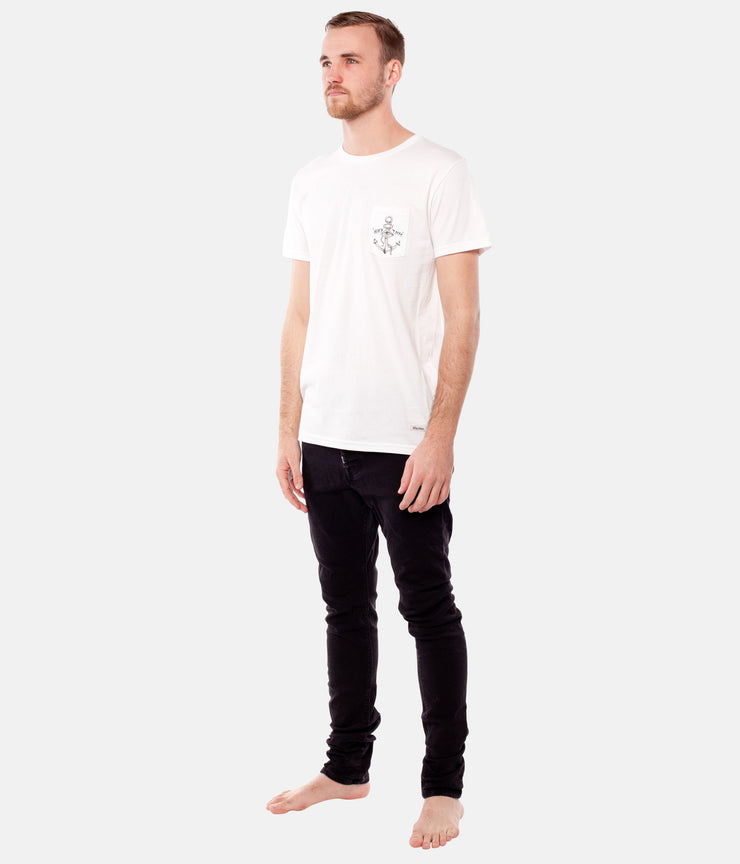 LOST AT SEA T-SHIRT WHITE
