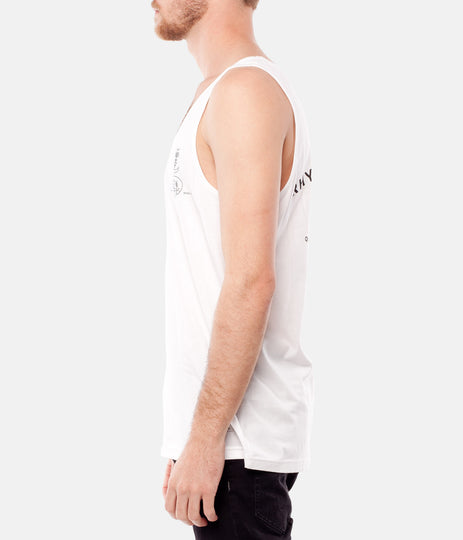 SUPPLY CO SINGLET WHITE