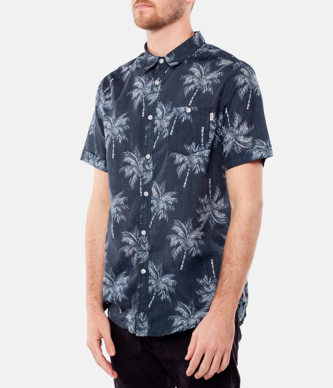 MAGIC PALM SS SHIRT BLACK