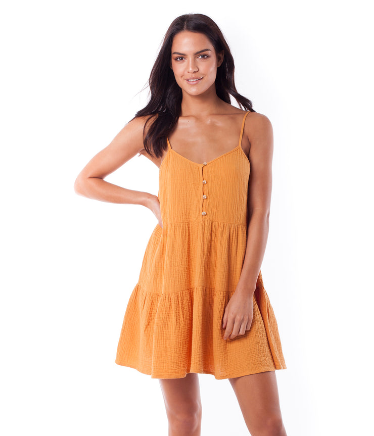 CAMILLE DRESS MARIGOLD