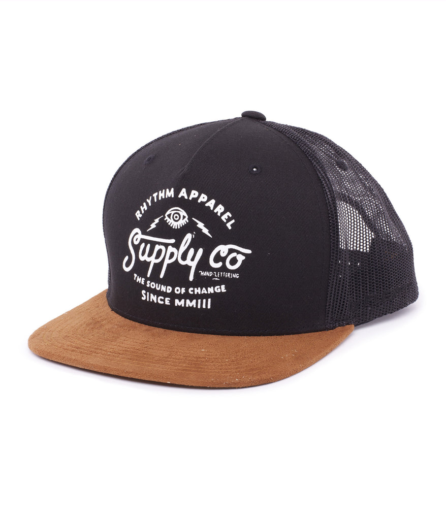RHYTHM CO CAP BLACK