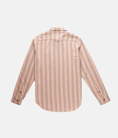 FIRST EDITION VACATION STRIPE LS SHIRT HONEY