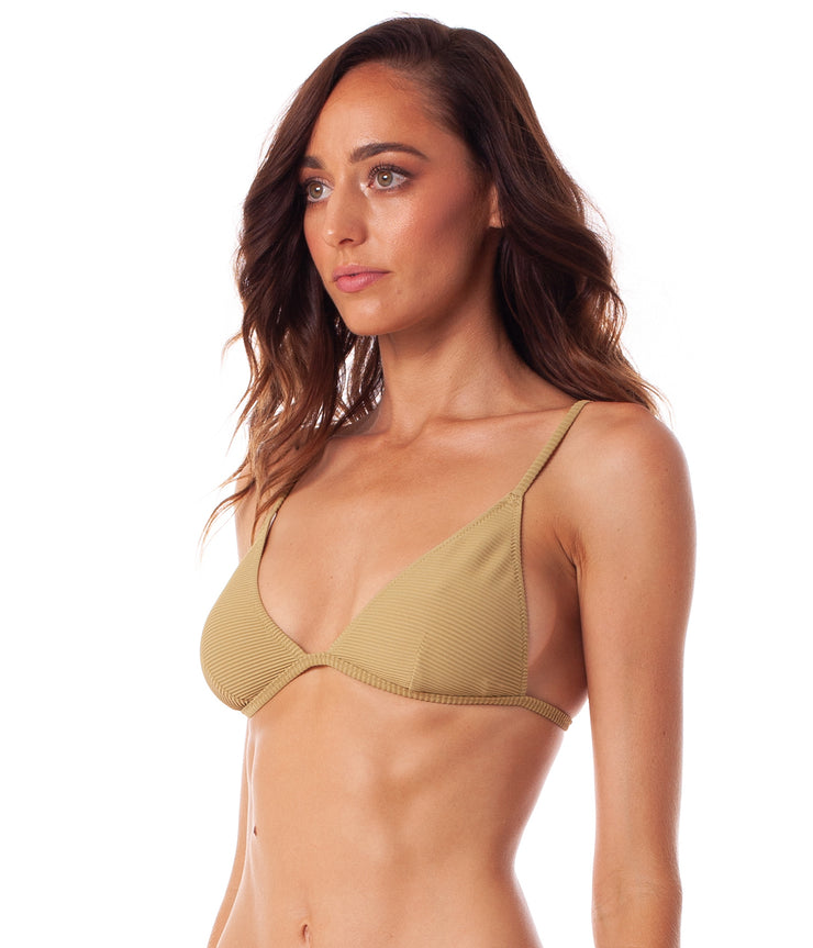 PALM SPRINGS BRALETTE TOP SAGE