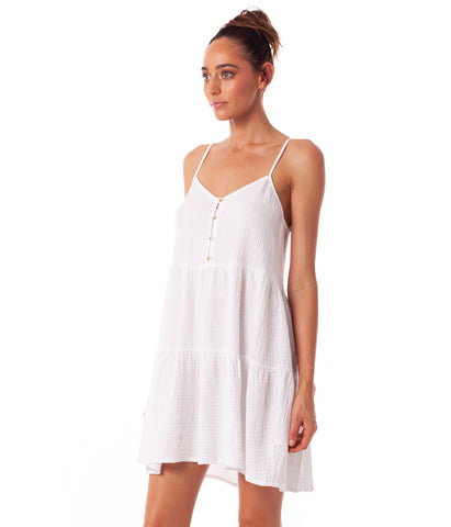 CAMILLE DRESS WHITE