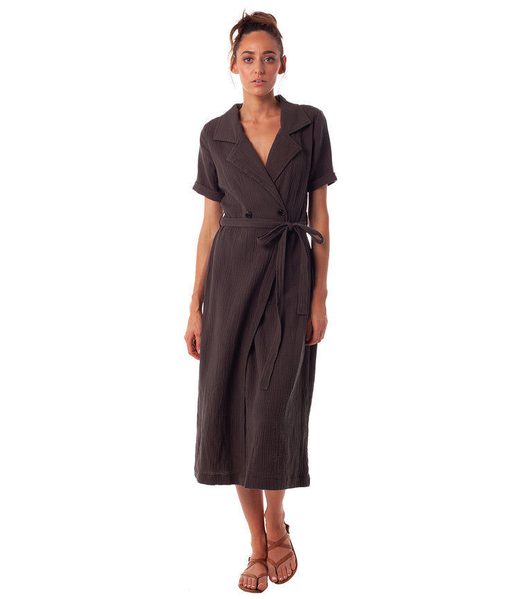 CAMILLE WRAP DRESS JUNGLE