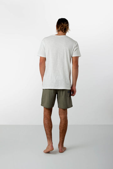 BLACK LABEL BEACH SHORT VINTAGE OLIVE