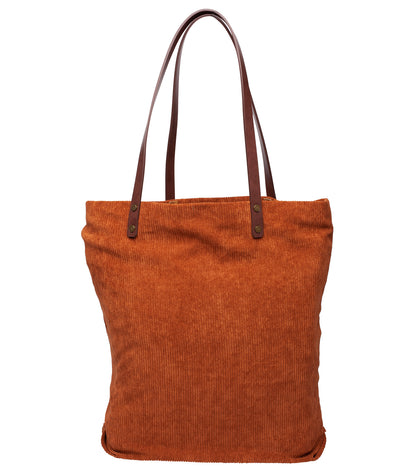 EDINBURGH TOTE BAG RUST