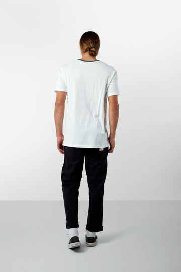 RINGER T-SHIRT WHITE