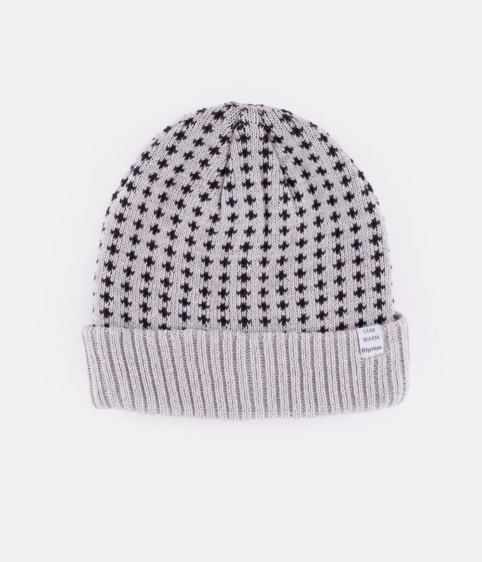 SUFFOLK BEANIE GREY MARLE