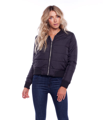 ZENNOR BOMBER JACKET BLACK
