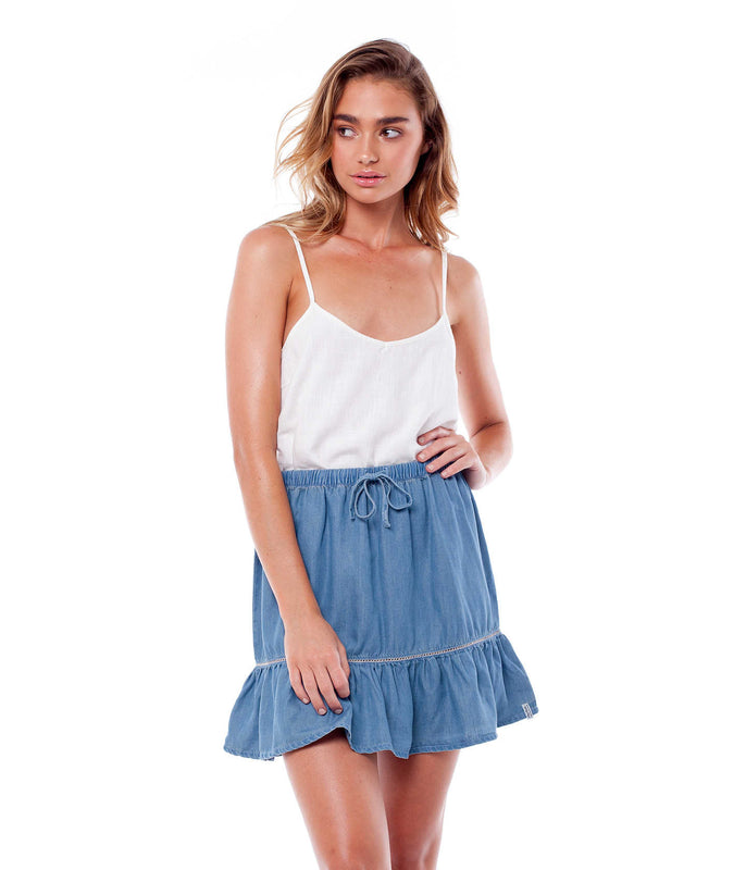 WANDERLUST SKIRT DENIM