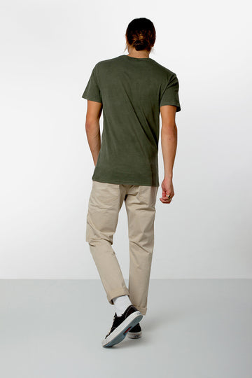 POCKET T-SHIRT DUSTED OLIVE