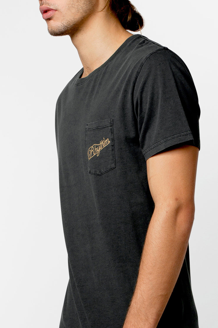 POCKET T-SHIRT BURNT BLACK
