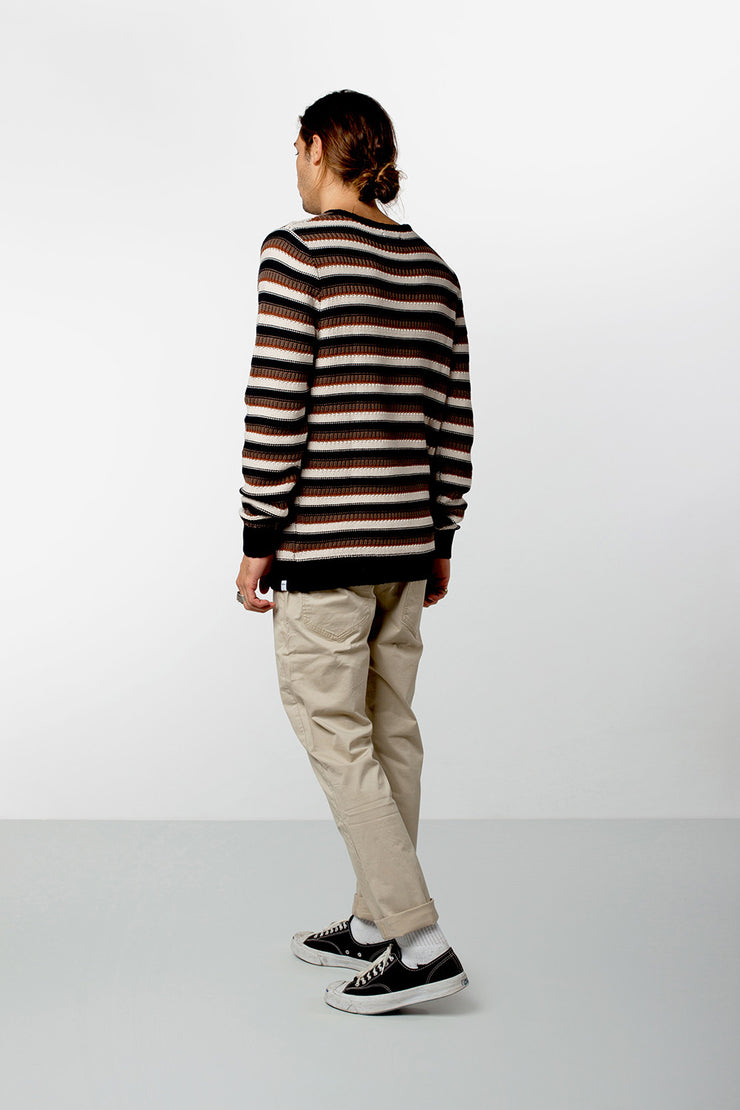 CASABLANCA KNIT NAVY / OLIVE