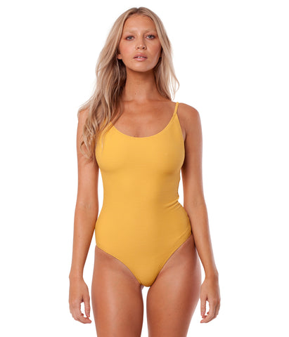 PALM SPRINGS ONE PIECE MARIGOLD