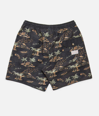 MOHALO BEACH SHORT VINTAGE BLACK