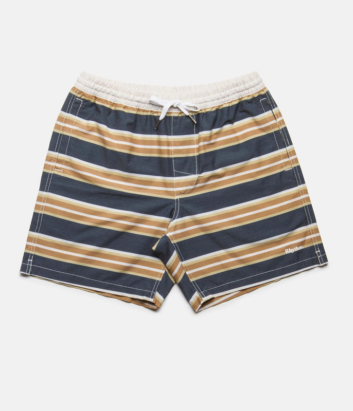 COASTAL STRIPE BEACH SHORT SUNSET