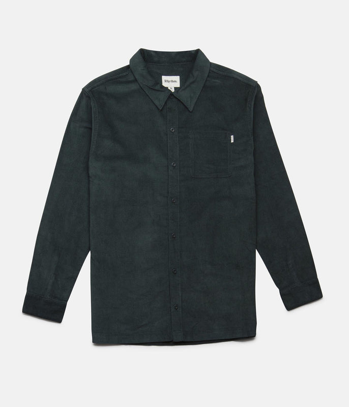 CORDUROY LS SHIRT FOREST
