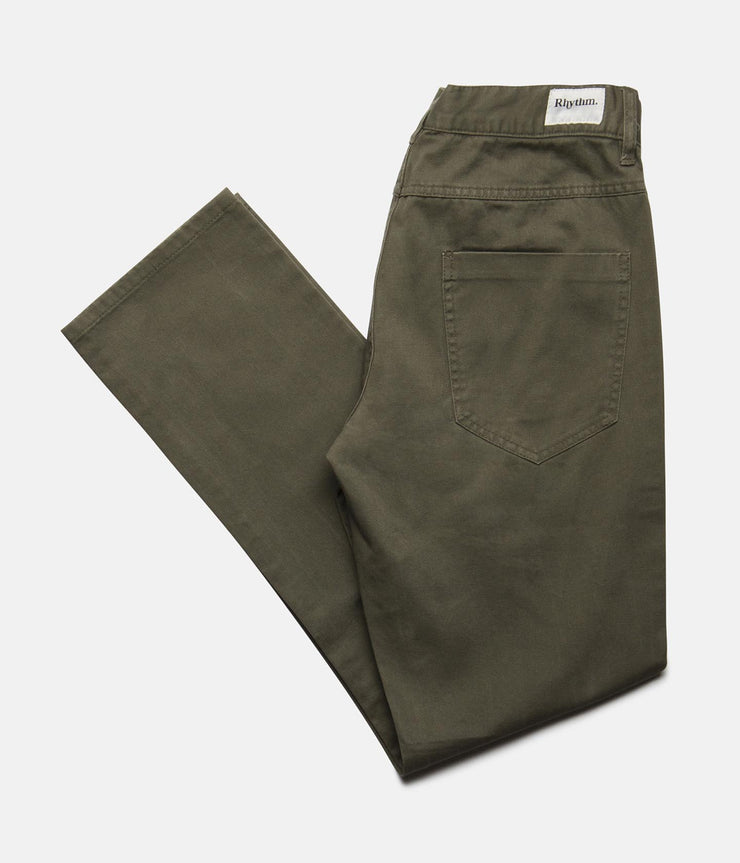 JEAN PANT OLIVE