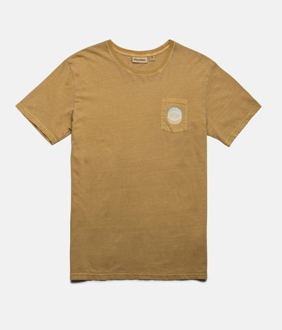 POCKET T-SHIRT WASHED ALMOND