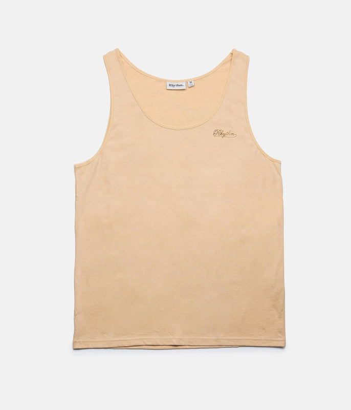 TIKI BAR SINGLET DUSTY PEACH