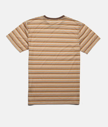 EVERYDAY STRIPE T-SHIRT ALMOND