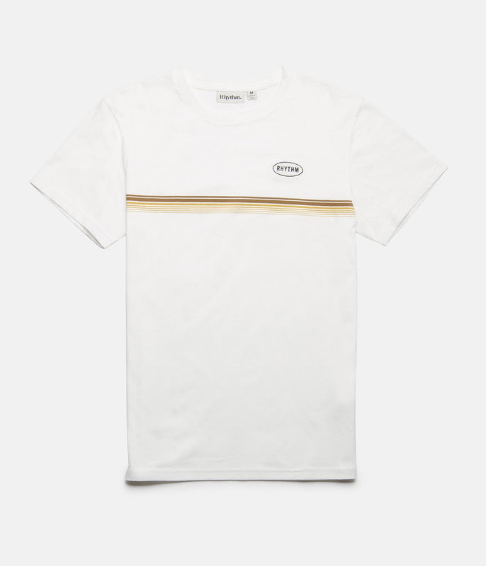 60'S STRIPE T-SHIRT WHITE