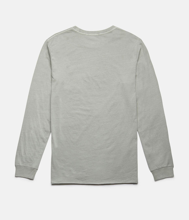 EVERYDAY WASH LS T-SHIRT WASHED SAGE