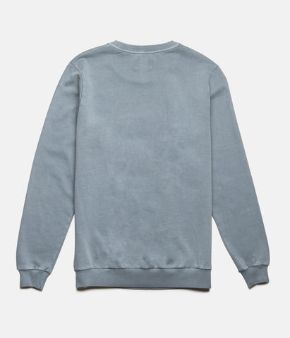 WASHED OUT PULLOVER STONE BLUE