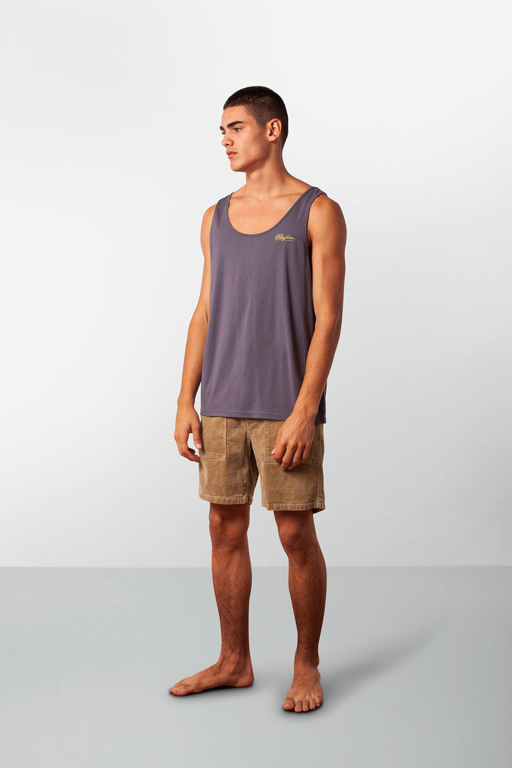 TIKI BAR SINGLET NAVY