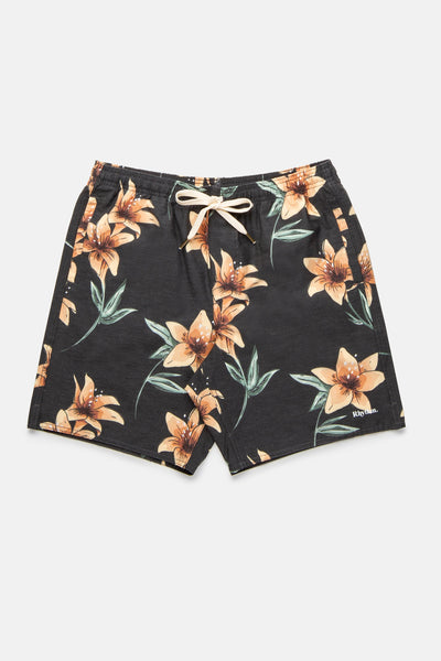 Venezuela Beach Short Vintage Black