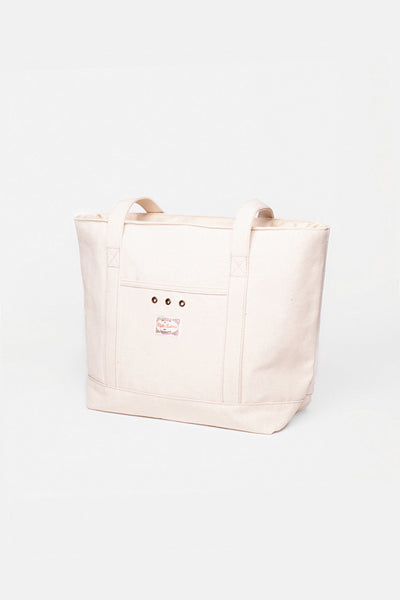 Weekend Tote Natural White