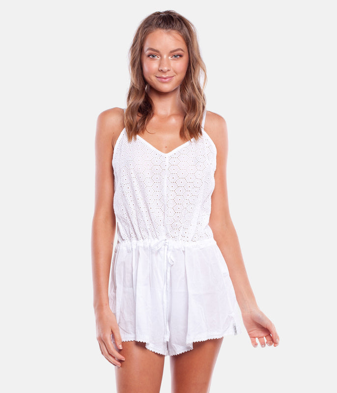 JASMINE JUMPSUIT WHITE